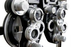 Optométriste Testing Device images libres de droits