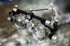 optometrikeranblickar Arkivbild