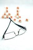 optometrikervisit Fotografering för Bildbyråer
