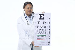 optometrist Stock Foto