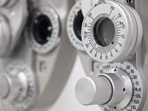 Optometrist diopter Royalty Free Stock Photos