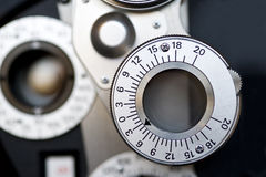 Free Optometrist Diopter. Royalty Free Stock Photos - 22971878