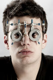 Optometrist Exam Stock Photo