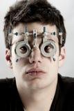 Optometrist Exam Royalty Free Stock Photo