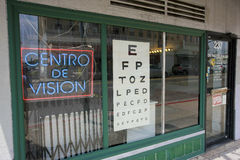 Optometrist Los Angeles Stock Photo