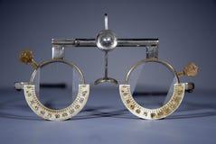 optometrist s πλαισίων δοκιμή Στοκ Εικόνες