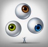 Optometrista Concept Fotografie Stock Libere da Diritti