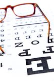 Optometry concept Royalty Free Stock Photos