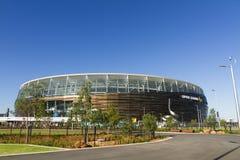 Optus Stadium. The exterior of Optus Stadium in Perth, Australia Stock Image