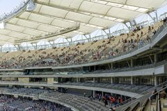 Optus Stadium in Perth royalty free stock photography