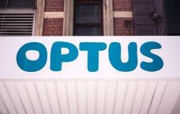 Optus store Stock Image