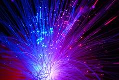 optyka włókien Fotografia Stock