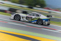 Optymalna Motorsport drużyna Ginetta G55 24 godziny Barcelona Obrazy Stock