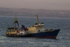 opuścić schronienia połowowych łodzi Obraz Stock