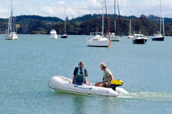 Opua marina at the  Bay of Islands New Zealand Royalty Free Stock Photography