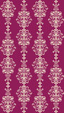 Opulent seamless damask stock photos