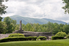 Opus 40. On the National Register of Historic Places, this is the artistic creation of Harvey Fite. He worked alone on this project until his death after 37 royalty free stock photo
