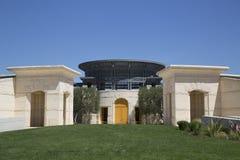 Opus Jeden wytwórnia win w Napy dolinie Obrazy Stock