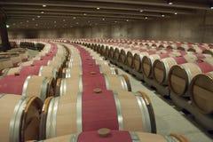 Opus um da adega de vinho, vale de Nappa fotos de stock