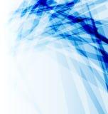 Opuscolo blu di affari, priorità bassa astratta Fotografia Stock
