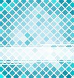 Opuscolo di affari con il modello del mosaico Fotografia Stock
