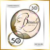 Opuscolo-modello di affari per i saloni di bellezza e hairdressing-10 illustrazione vettoriale