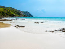 Opustoszała plaża Fotografia Stock