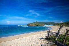 Opustoszała plaża zdjęcia royalty free