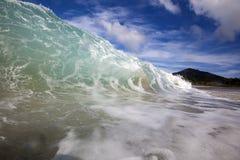 Opustoszała plaża fotografia royalty free