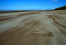 Opustoszała plaża Zdjęcie Royalty Free