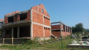 Opustoszały budynku projekt obraz stock