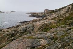Opustoszały miejsce w Lindesnes, Norwegia fotografia stock