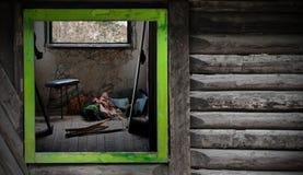 opustoszały pokój Fotografia Stock