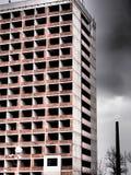 Opustoszały wysoki wzrosta budynek Fotografia Royalty Free
