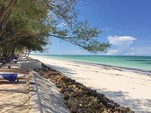 Opuszczać drogę plażowa odległość zdjęcie royalty free