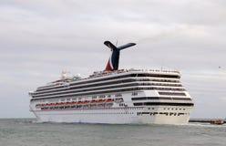 opuszczać Miami port karnawałowy przeznaczenie Zdjęcia Royalty Free