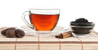 opuszczać wciąż życie herbaty fotografia royalty free
