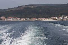Opuszczać wybrzeże behind zdjęcie royalty free