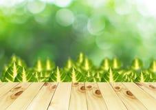 Opuszcza na zielonym tle Zdjęcie Stock