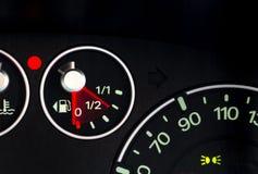 Opuszczać paliwowego gauge2 Zdjęcia Stock