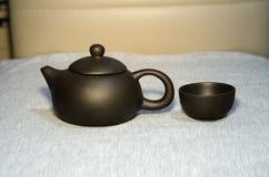 opuszczać teapot parowego gwizd Fotografia Stock