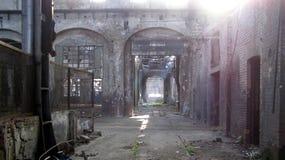 opuszczona fabryka Obrazy Stock