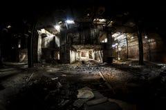 opuszczona fabryka zdjęcia stock
