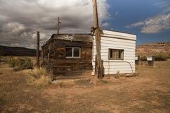 opuszczona stacja benzynowa Fotografia Stock