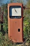 opuszczona stacja benzynowa Zdjęcia Stock