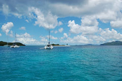 opuszczona wyspa łodzi zdjęcie royalty free