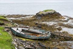 opuszczonej łodzi Obraz Stock