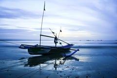 opuszczonej łodzi zdjęcie stock