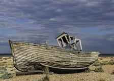opuszczonej łodzi Fotografia Stock