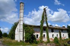 opuszczony budynek Zdjęcia Royalty Free